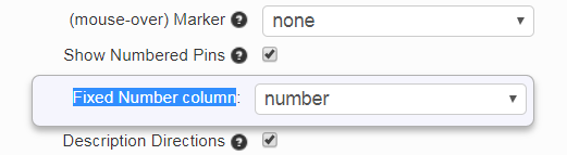 fixed number option